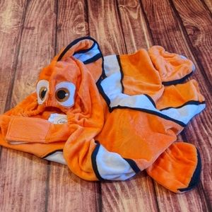 Finding Nemo dog costume, sz XL
